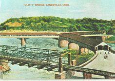 Old Y Bridge, Zanesville, Ohio