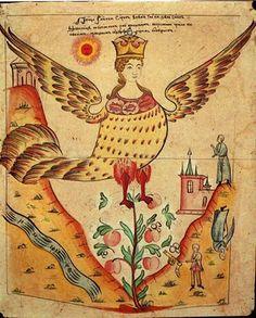 Sirin sirin russian, siren, russian illustr, russian lubok, bird peopl, art, 19th century, mytholog creatur, bird of paradise