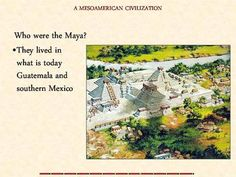 A beautiful 35 slide Power Point describing the life and times of the Ancient American Civilizations including  the city of Teotihuacán, and the Aztec, Maya, and Inca people.  A good introduction with many details including customs and foods.   The presentation can provide a  good review using colorful slides with a light touch that students will find fun.