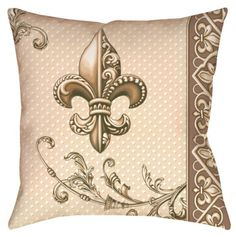 Fleur-de-lis ... Love the colors