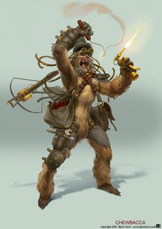 Steampunk Chewbacca