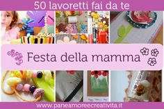50 lavoretti per la festa della mamma