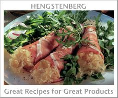 Hengstenberg Great Recipes for Great Products...German recipes