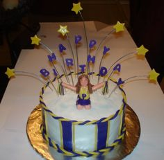 Cake Crazy: Happy Birthday cheerleader 3