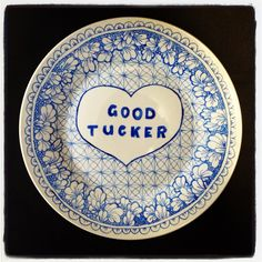 Good tucker plate by Natalie Perkins