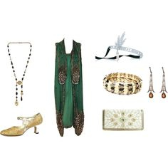 What Would You Wear If...You Were Going To A Party At Jay Gatsby's Mansion? by catjp, via Polyvore