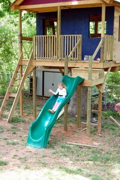 Kids Tree House DIY ideas