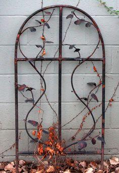 copper yard art