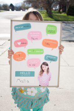 @Silhouette America: For the Classroom :: All About Me Board
