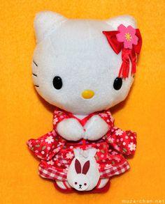 Hello Kitty became popular around the globe.