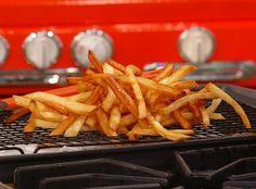 Guy Fieri's Johnny Garlic fries. If you want the #recipe — and yes, you want the recipe — click the photo. (via www.rachelrayshow.com)