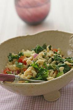 Kale Orzo Salad