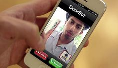 DoorBot WiFi Doorbell Camera Lets You See Who is at Your Door With Your Smartphone