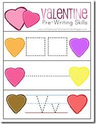 Valentine's Day PreK Activities and Printables