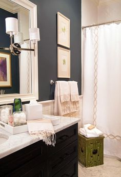 Pretty  much exactly what our bathroom will look like if we keep the current layout.