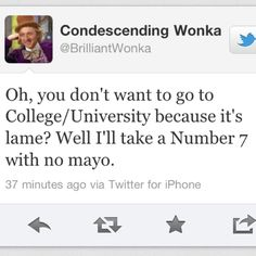 Do not postpone going to college. You will be pleased you actually did.