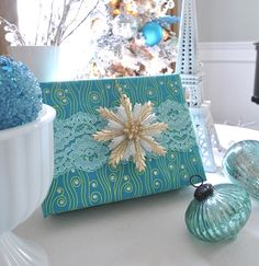 Holiday Decorating with Lace | Centsational Girl
