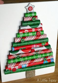 Wrapping paper #Christmas tree