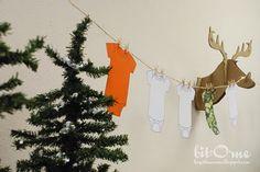 Camo shower decorations
