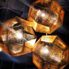 #neocon2013 lights, more hexagons, shaw carpet