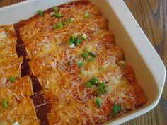 Chicken Cheese Enchiladas » Nutmeg Notebook