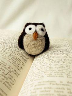 felted owl... #felt #owl