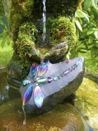Dragonfly Rocks for the garden
