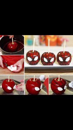 SpiderMan Apples