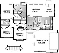 Modular home modular home floor plans bungalow for Chicago style bungalow floor plans