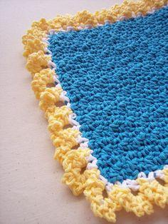 A little crochet washcloth