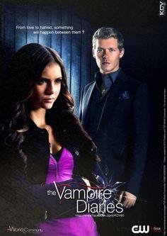 the vampire diaries season 1 posters   Poster promo Vampire Diaries Klatherine by ~KCV80 on deviantART