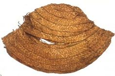 Straw hat, late 15th or beginning of 16th century from Kempten, Germany