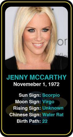 Celeb #Scorpio birthdays: Jenny McCarthy's astrology info! Sign up here to see more: https://www.astroconnects.com/galleries/celeb-birthday-gallery/scorpio?start=30  #astrology #horoscope #zodiac #birthchart #natalchart #jennymccarthy