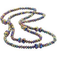 Peacock Rock Necklace - New Age & Spiritual Gifts at Pyramid Collection