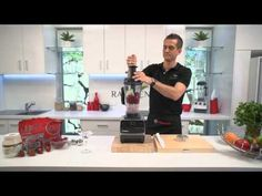 Vitamix Demonstration 3. Ice Cream Recipe by Raw Blend