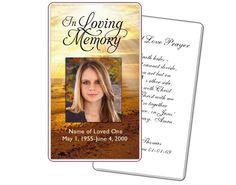 Prayer Cards: Shine Prayer Card Templates