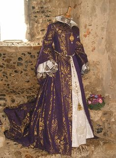 Mary Tudor's Wedding Dress (created by Tanya Elliott)