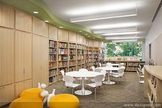 Library: Curved walls