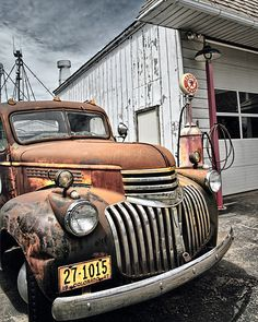 I Love Old Trucks