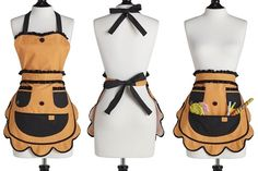 Jack O Lantern apron