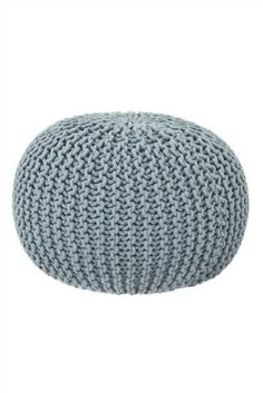 Buy Grey-Blue Knitted Pod from the Next UK online shop