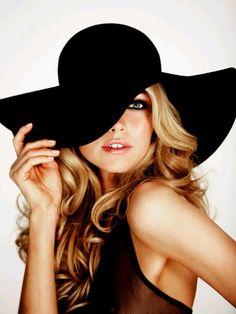 hats, fashion, cloth, floppi hat, style, accessori, beauti, hair, black