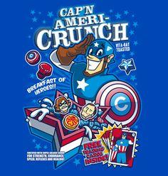 #CaptainAmerica's #CaptainCrunch!