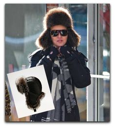 It's freezing! Wear a trapper hat, they're chic (now) -  Just look at Madonna in a Bally one.  http://www.focusonstyle.com/style/freezing-wear-a-trapper-hat/