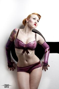 HOT.  Lingerie by HMS Latex