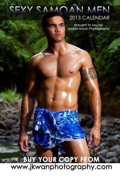 Otara Book signing also celebrated launch of Jordan Kwan's 'Sexy Samoan Men 2013' Calendar