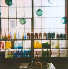 bottl, photograph, glasses, window, polaroid