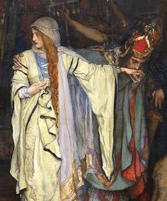 Edwin Austin Abbey - King Lear, Act I, Scene I