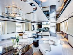 Explore our collection of luxury lighting and furniture and find the perfect selection of pieces to finish your yatch interior design project. Enter luxxu.net to discover the entire collection  #superyachts #yatch #luxury #luxuryfurniture #lighting #lightingdesign #interiordesign #decor