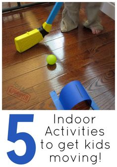 Toddler Approved!: 5 Indoor Games To Get Kids Moving!